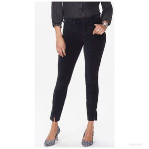 Ami Skinny Velveteen Jeans with Twisted Side Seam